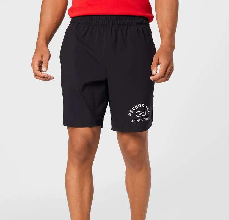 Reebok Herren Sport Shorts in Schwarz für 24,43€ inkl. Versand (statt 35€)