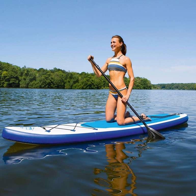 Easymaxx SUP 320 Stand Up Paddle Board mit Zubehör für 222€ inkl. Versand (statt 304€)