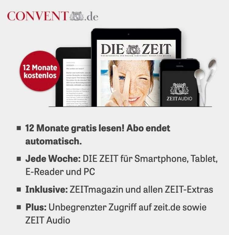 Die Zeit digital 12 Monate kostenlos lesen - Abo endet automatisch (keine Kündigung erforderlich)