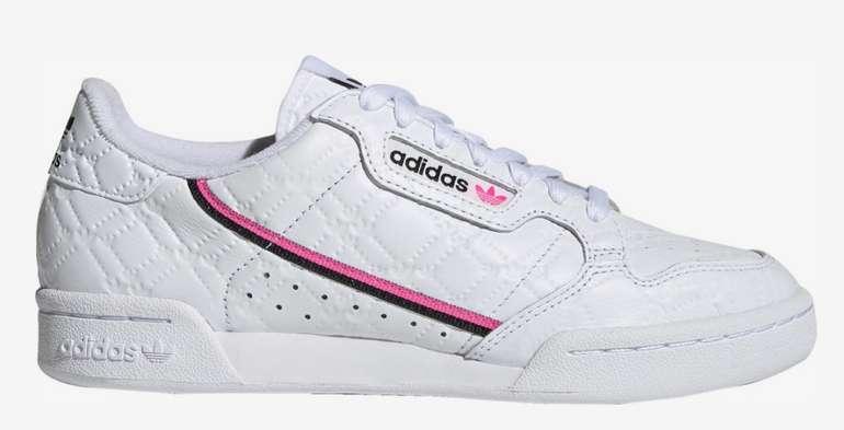 """Adidas Originals Sneaker """"Continental 80"""" in Screaming Pink für 49,95€inkl. Versand (statt 64€)"""
