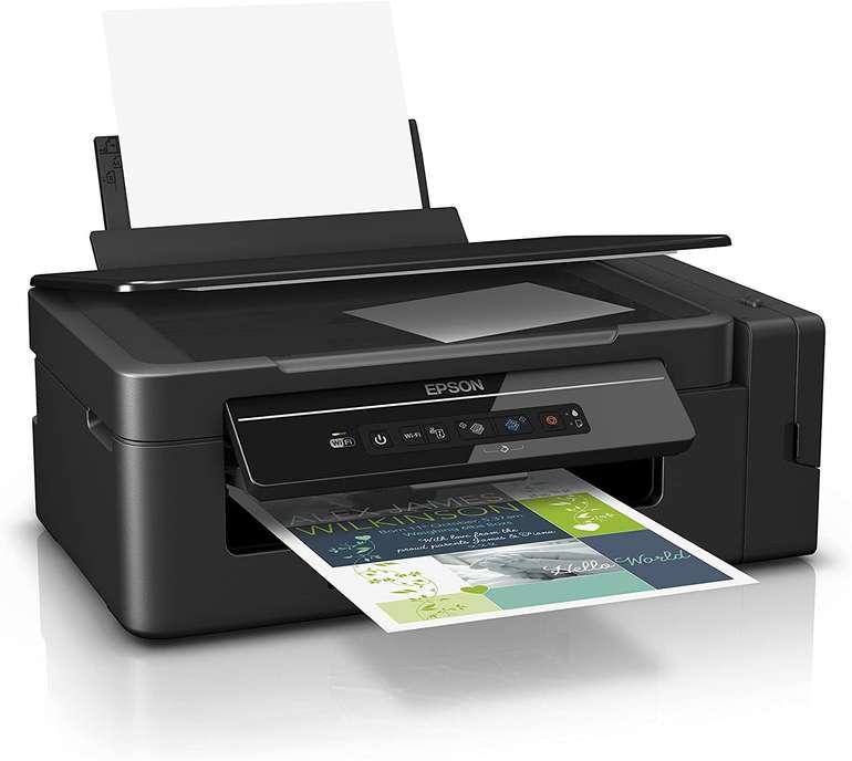 Epson Tintenstrahl-Multifunktionsgerät EcoTank ET-2600 (Kopierer, Scanner, Drucker, DIN A4, WiFi) für 153,95€
