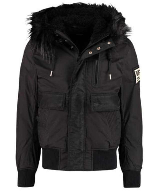 """Diesel Herren Jacke """"Burkisk"""" mit Teddy-Fleece-Kapuze für 181,91€ inkl. Versand (statt 279€)"""
