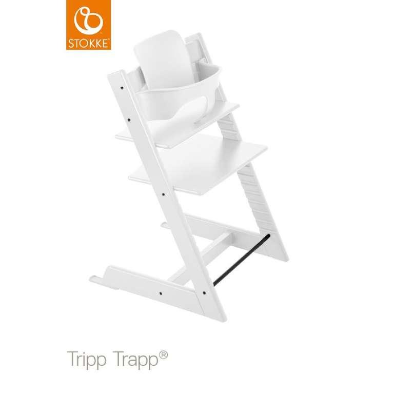 Stokke Tripp Trapp Hochstuhl + Babyset + Tray (Tisch) für 217,59€ inkl. Versand (statt 273€)