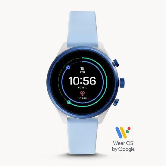 30% Rabatt auf verschiedene Fossil Smartwatch Sport Uhren, z.B. Hellblau für 121,80€
