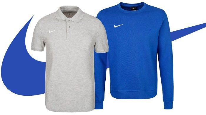 Nike Team Sports Herren Poloshirts für 18,99€ oder Sweatshirts für je nur 24,99€