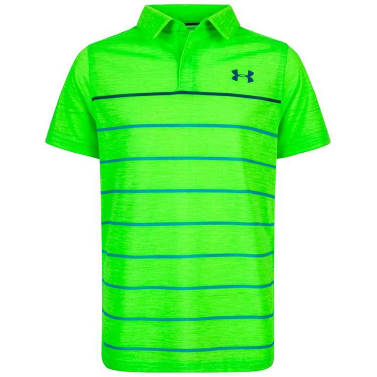 Under Armour Threadborne Bunker Kinder Polo-Shirt für 4,44€ zzgl. Versand (statt 18€)