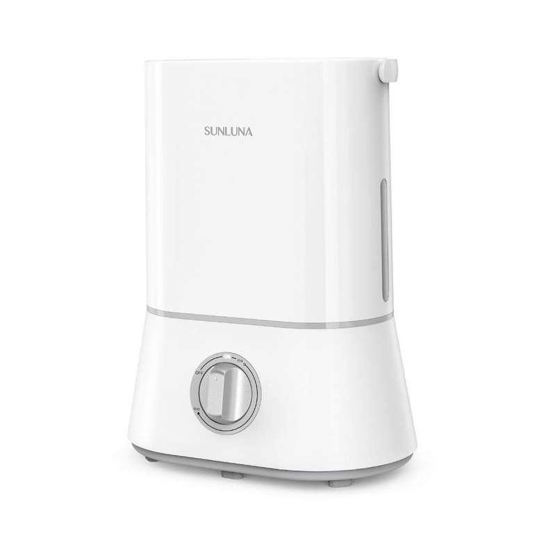 Sunluna Ultraschall Luftbefeuchter mit 4 Liter Wassertank für 15,99€ inkl. Versand (statt 30€)