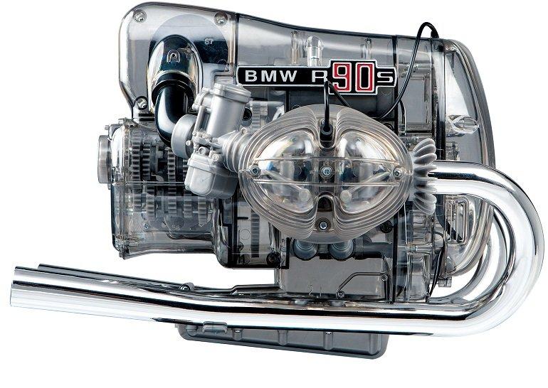 FRANZIS BMW R 90 S-Boxermotor Modellbausatz inkl. Begleitbuch für 119€