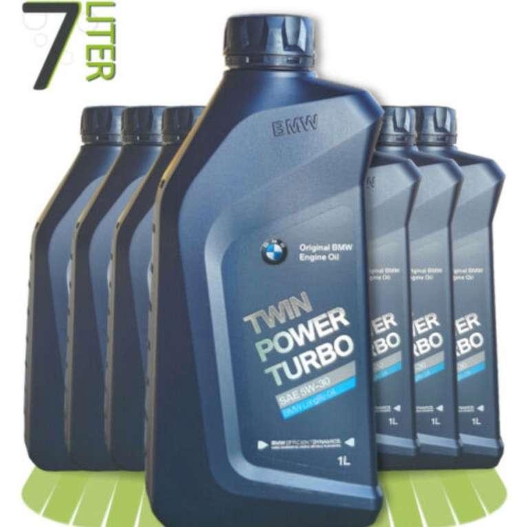 7 x 1L BMW TwinPower Turbo 5W-30 Motoröl Longlife-04 für 48,99€ inkl. Versand (statt 56€)