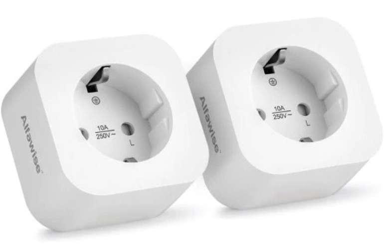 2er Pack Alfawise PE1004T smarte Steckdosen (Alexa & Google Home) für 14,03€ inkl. Versand