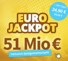8 Felder EuroJackpot + 1260 EuroJackpot System Chancen für 24€ (statt 34€)