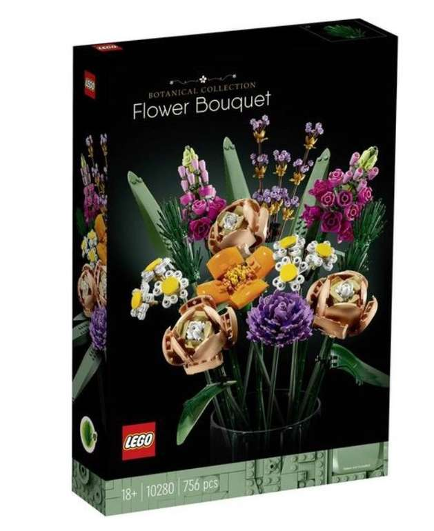 Lego Creator Blumenstrauß (10280) für 32,92€ inkl. Versand (statt 40€)