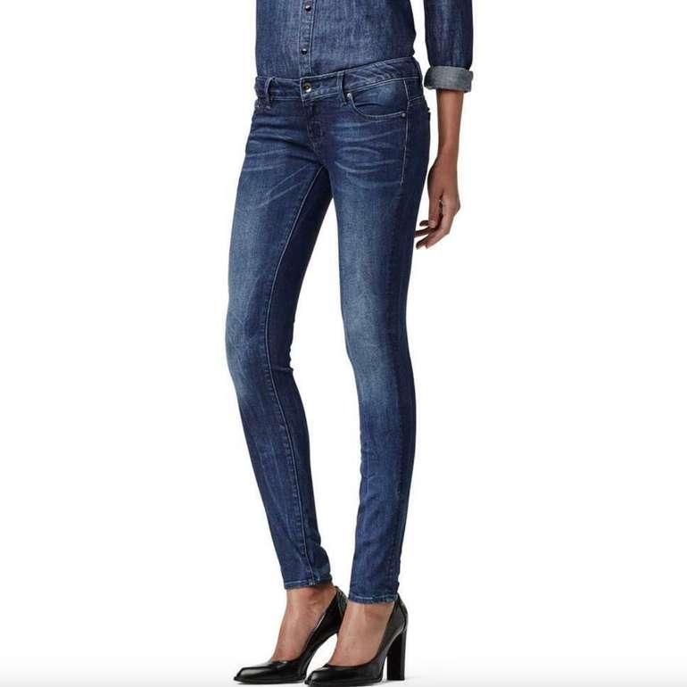 G-Star Midge Zip Low Waist Super Skinny Damen Jeans für 31,96€ inkl. Versand (statt 47€)