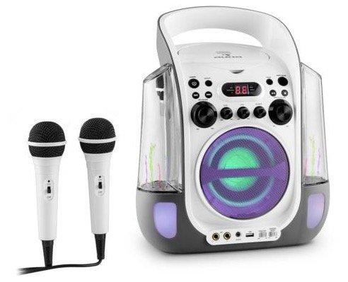 Auna Kara Liquida Karaoke Musik Anlage + 2 Mikrofone für 79,99€