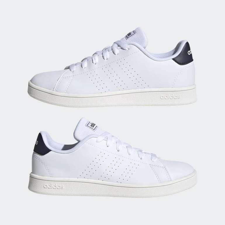adidas Advantage Kinder Sneaker in Weiss Blau für 22,40€inkl. Versand (statt 30€) - Creators Club!