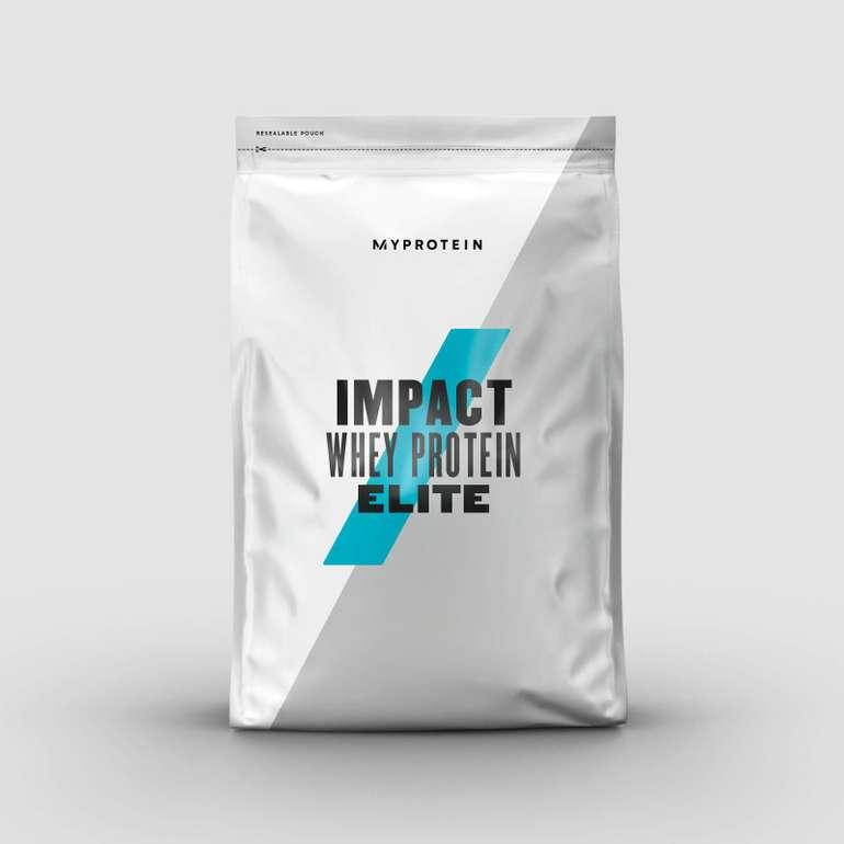 2,5Kg Impact Whey Protein Elite (Geschmack: Schoko oder Vanielle) für 22,78€ inkl. Versand (statt 32€)