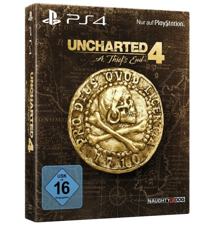 Uncharted 4: A Thief's End - Special Edition (PS4) für 24,99€ (statt 41€)