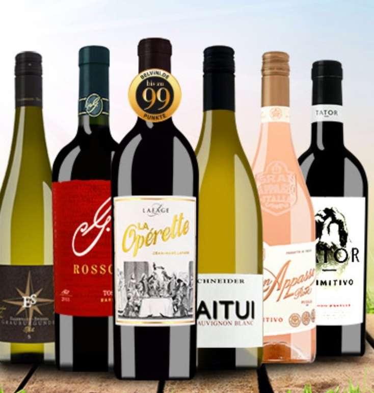 6er Belvini Oster Weinpaket mit 6 italienischen Weinsorten für 53,91€ inkl. Versand (statt 70€)