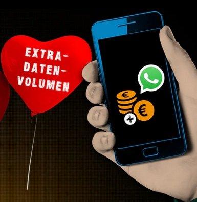 Congstar Valentinstags-Aktion: 10GB Datenvolumen geschenkt bei Guthaben-Aufladung
