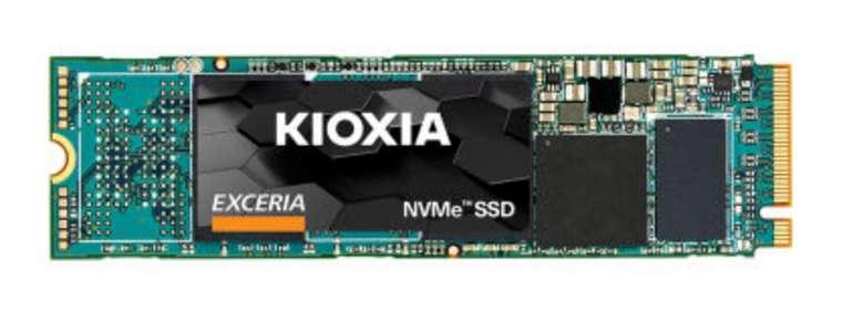 Kioxia Exceria SSD mit 250GB (M.2 PCIe x4 NVMe) für 29,99€ inkl. Versand (statt 43€)