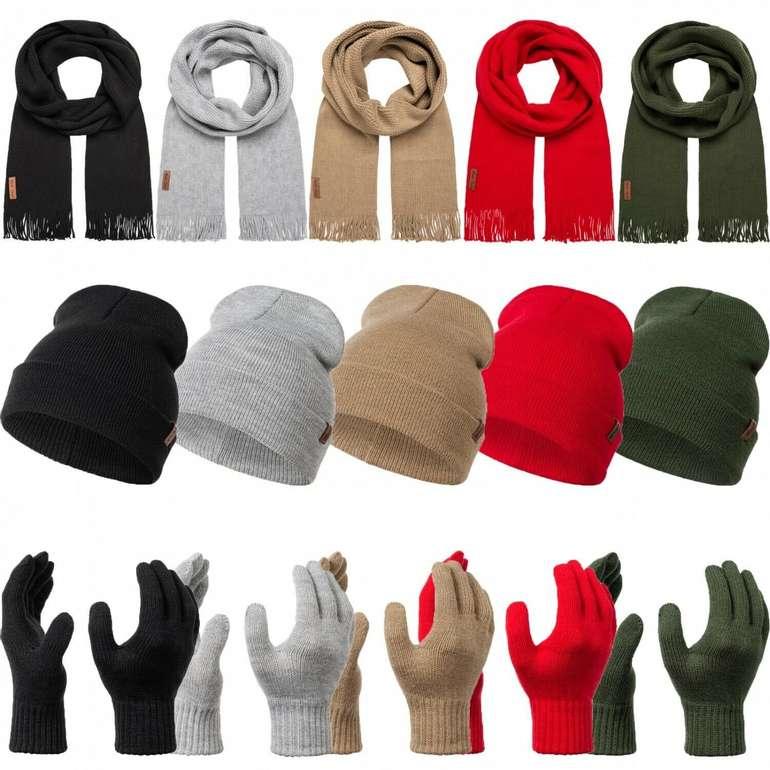 Rock Creek Winter-Set (Schal, Mütze & Handschuhe) für 12,90€ (statt 16€)