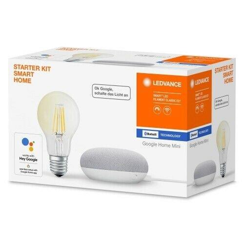 Ledvance Bundle Google Home Mini + Smart+ LED (E27) Filament für 19,99€ inkl. Versand (statt 32€)