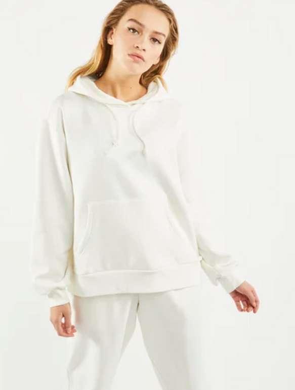 adidas Cosy Damen Hoodie in Weiß für 29,99€inkl. Versand (statt 48€)