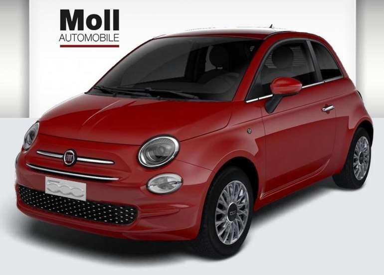 Gewerbe- und Privatleasing: Fiat 500 Lounge Serie 7 mit 69PS für 59€ mtl. Brutto (einmalig: 990€) - LF: 0,34