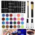 Skymore Glitzer Tattoo Kit mit 24 verschiedenen Farben für 13,99€ (Prime)