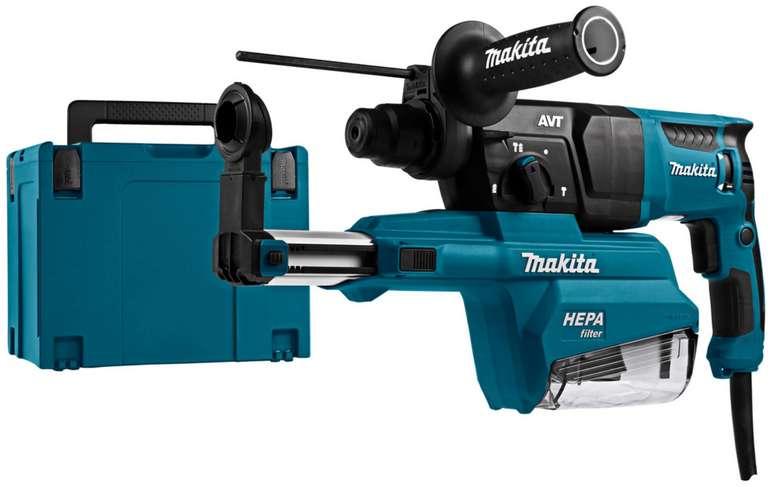Makita HR2651J Kombihammer mit Absaugvorrichtung und 800 Watt für 165,90€inkl. Versand (statt 253€)