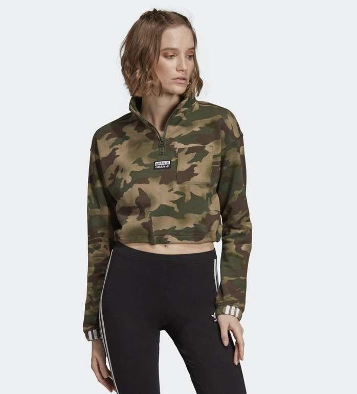 Adidas Damen Half-Zip Pullover für 31,18€ inkl. Versand (statt 45€)