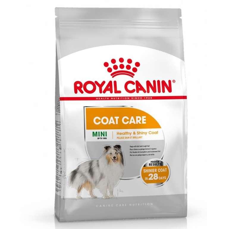 16kg Royal Canin CCN Mini Coat Care Hundefutter (2 x 8kg) für 57,71€ (statt 76€)