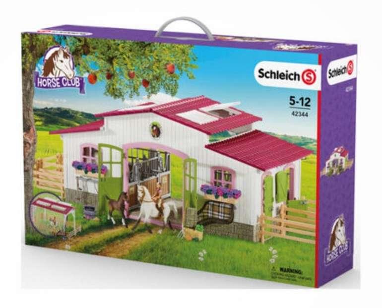 Schleich Reiterhof mit Reiterin und Pferden (42344) für 56,59€ (statt 74€)