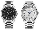 BUREI - Klassische Herren Armbanduhr für 20,39€ mit Prime