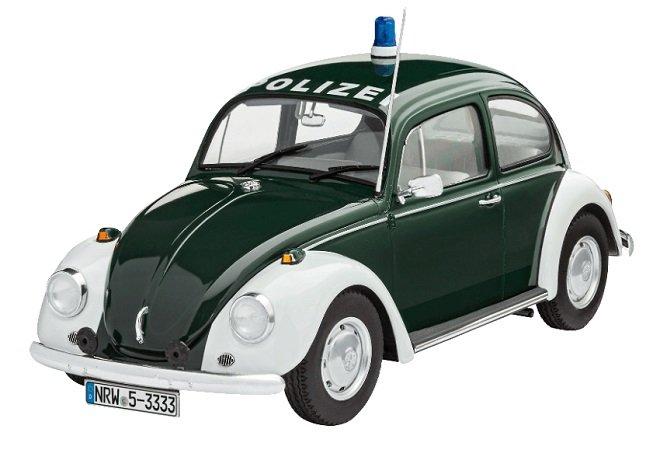Revell 1:24 Modellbausatz: Volkswagen VW Käfer Polizei 1968 für 9€