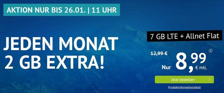 Handyvertrag.de Allnet-Flat 2GB LTE