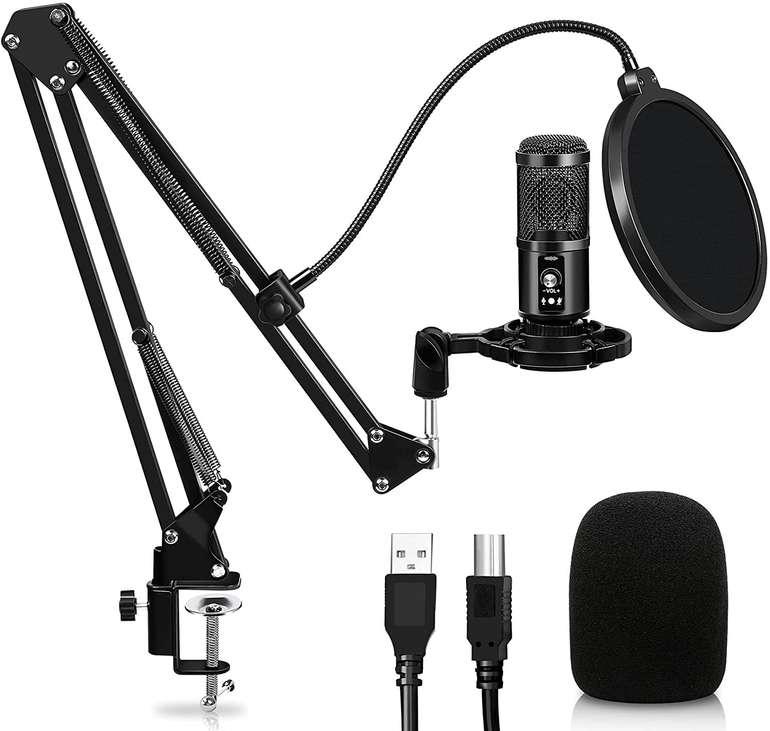 Swanew Kondensatormikrofon (USB, 192KHz /24Bit) für 33,14€ inkl. Versand (statt 51€)
