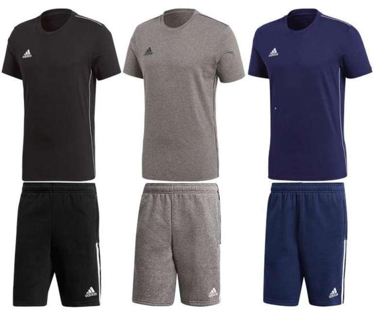 2-tlg. Adidas Freizeit Outfit (T-Shirt und Shorts) für 29,99€ inkl. Versand (statt 35€)
