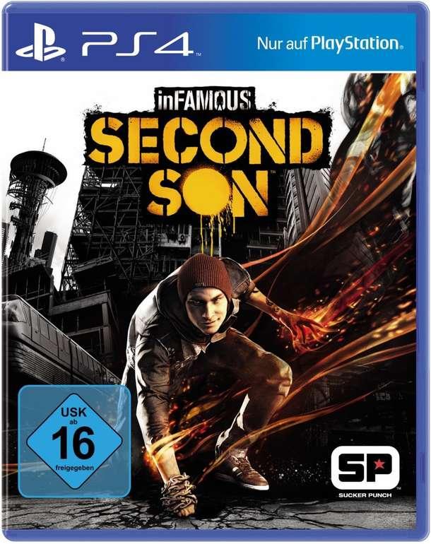 inFAMOUS: Second Son (PS4) für 10,98€ inkl. Versand (statt 15€)