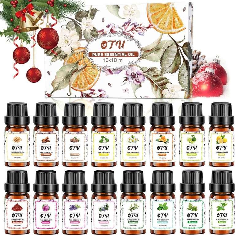 Txin ätherische Öle reduziert, z.B. 16 x 10ml für 20,99€ inkl. Prime Versand
