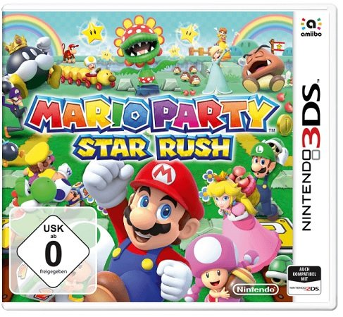 Mario Party Star Rush [Nintendo 3DS] für 17€ inkl. VSK (statt 26€)