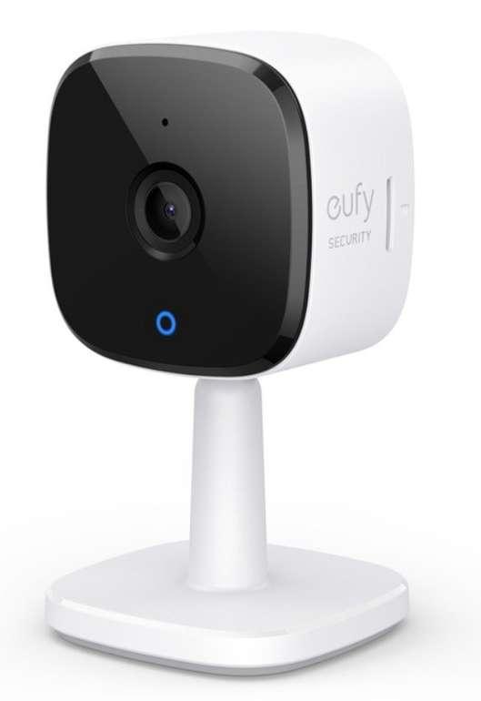 eufy Security Indoor Cam - 2K Sicherheitskamera mit Bewegungssensor für 29,99€ inkl. Versand (statt 40€)