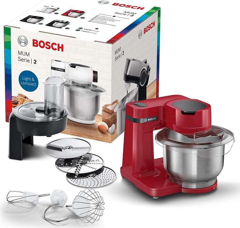 Bosch MUMS2ER01 - MUM Serie 2 Küchenmaschine (700W, 3,8L, aus Edelstahl) je 124,63€ inkl. Versand (statt 142€)