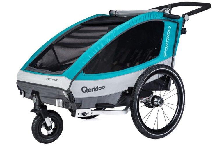 Qeridoo Sportrex2 Kinderfahrradanhänger für 314,14€ inkl. Versand (statt 387€)