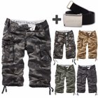 "<mark>Surplus</mark> Raw Vintage ""Trooper Legend"" 3/4 Herren Shorts + Gürtel für 29,90€"
