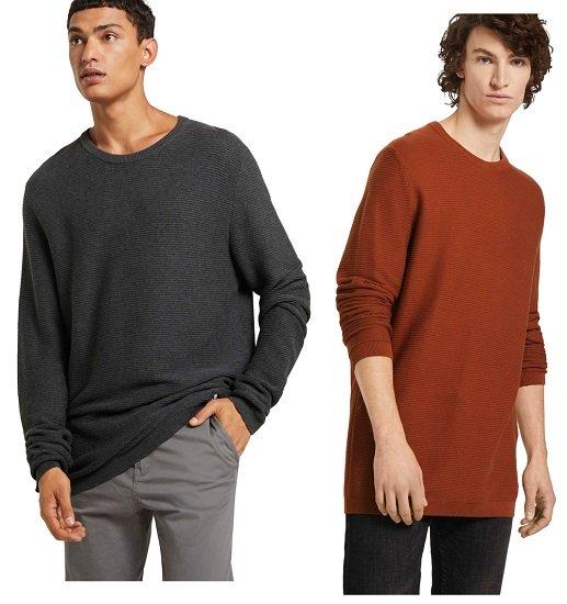 Tom Tailor Denim Herren Pullover (in 6 Farben) für je 13,50€ zzgl. Versand (statt 21€)