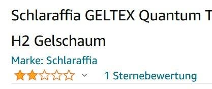 Schlaraffia GELTEX Quantum Touch 260 Matratze