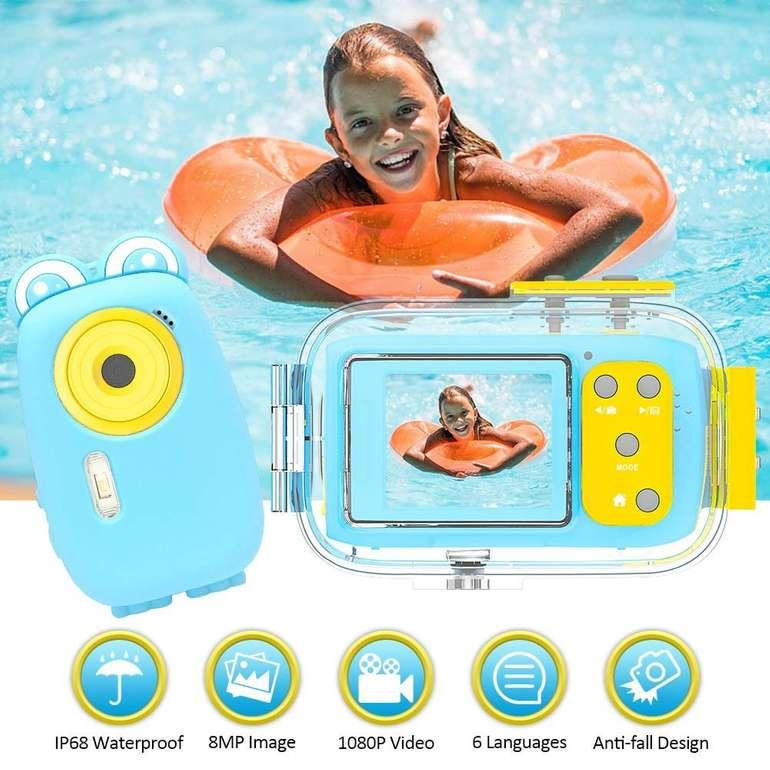 "Lincom Kinder Unterwasserkamera (8 MP, 2"" Display) für 19,94€ inkl. Versand (statt 40€)"
