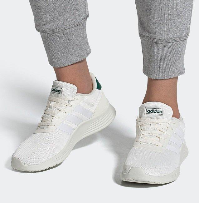 Adidas Lite Racer 2.0 Sneaker in Weiß für 26,38€ inkl. Versand (statt 40€)