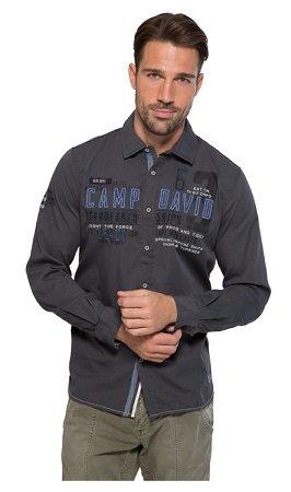 """Camp David & Soccx Power-Deal - Hemd mit """"Artwork"""" für 39,95€ & Pullover ab 49€"""
